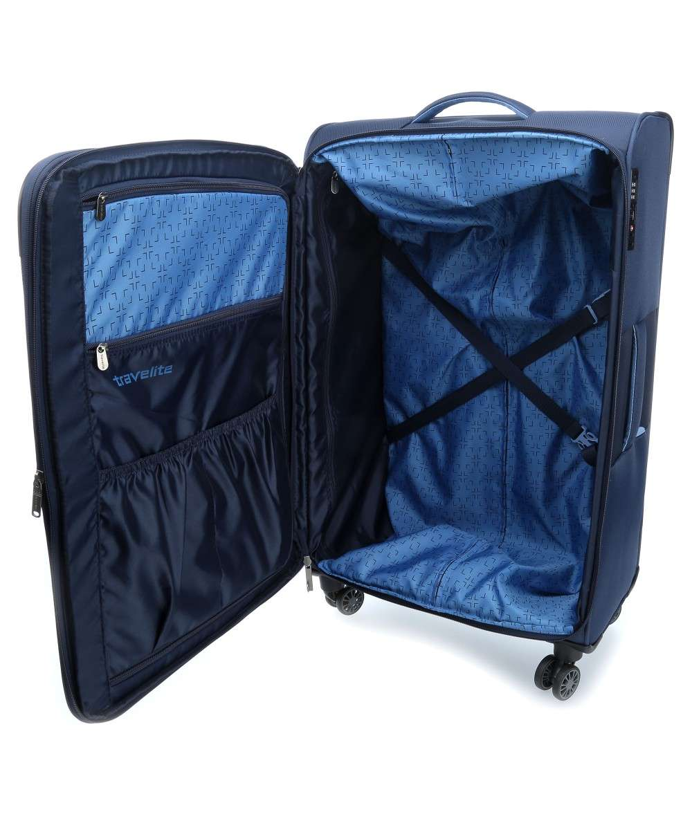Travelite Capri 4-Rollen Trolley navy 76 cm-89849-20-00 Preview
