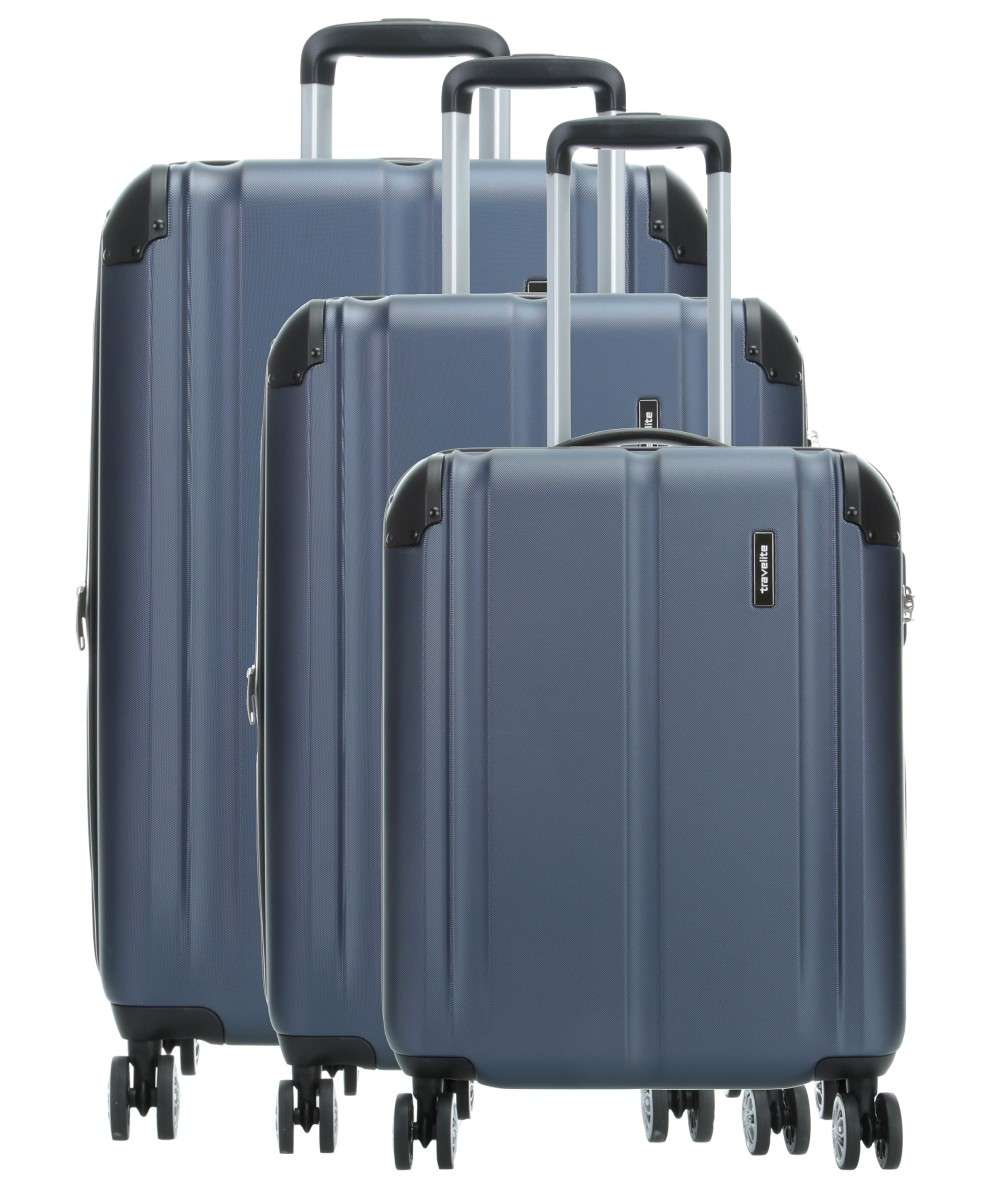 Travelite City 4-Rollen Trolley Set navy 3-tlg. Preview