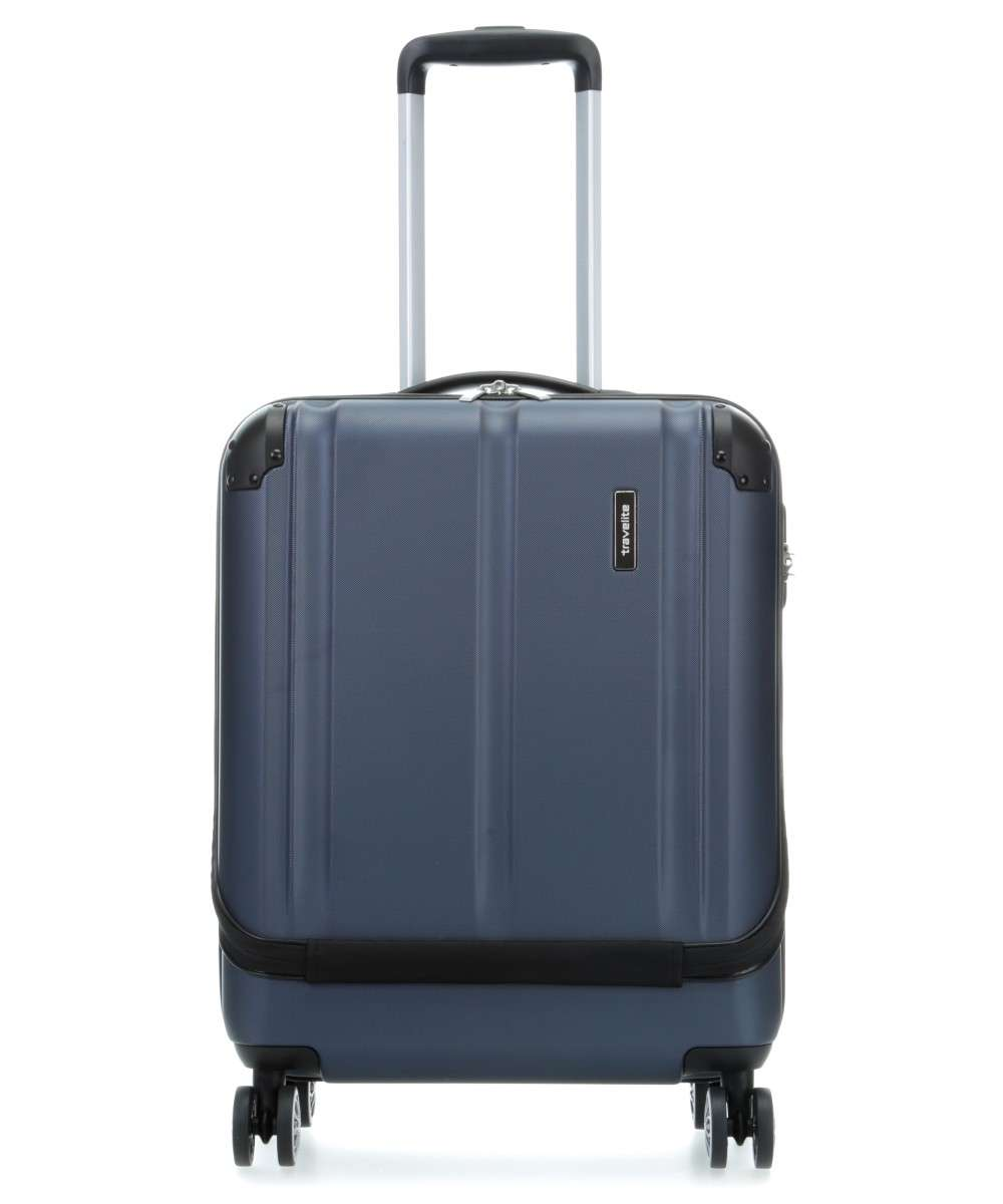 Travelite City Trolley (4 wielen) 17″ navy Preview