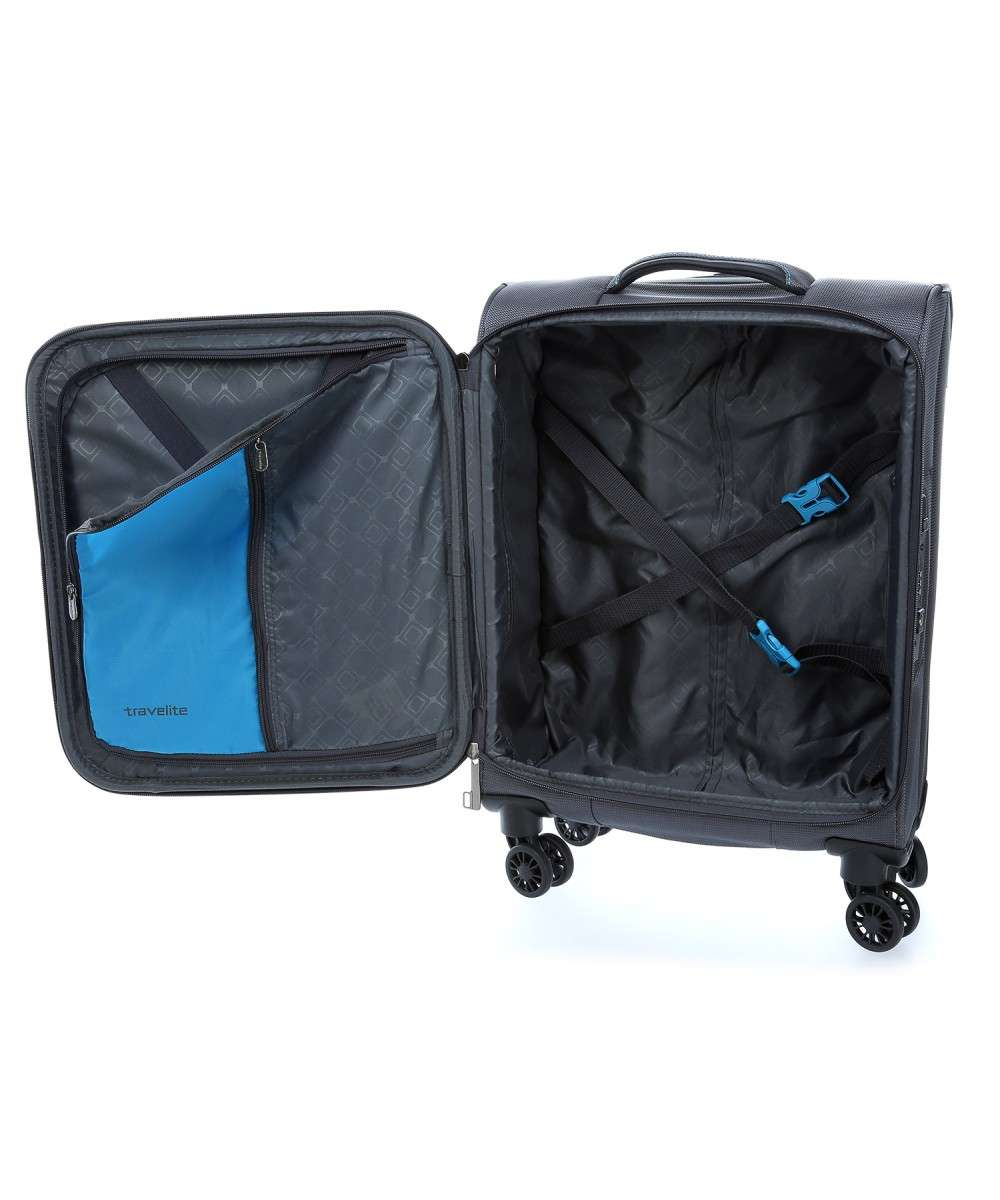 Travelite CrossLite 4-Rollen Trolley 13″ anthrazit-89547-04-00 Preview