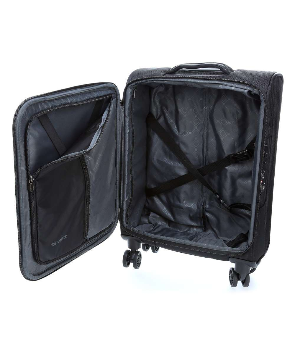 Travelite CrossLite 4-Rollen Trolley 13″ schwarz-89547-01-00 Preview