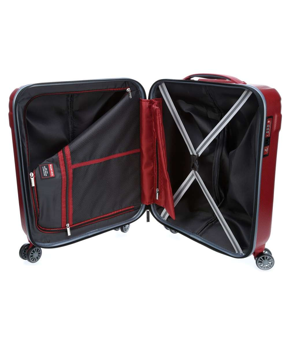 Travelite Vector 4-Rollen Trolley rot 55 cm-72047-88-00 Preview