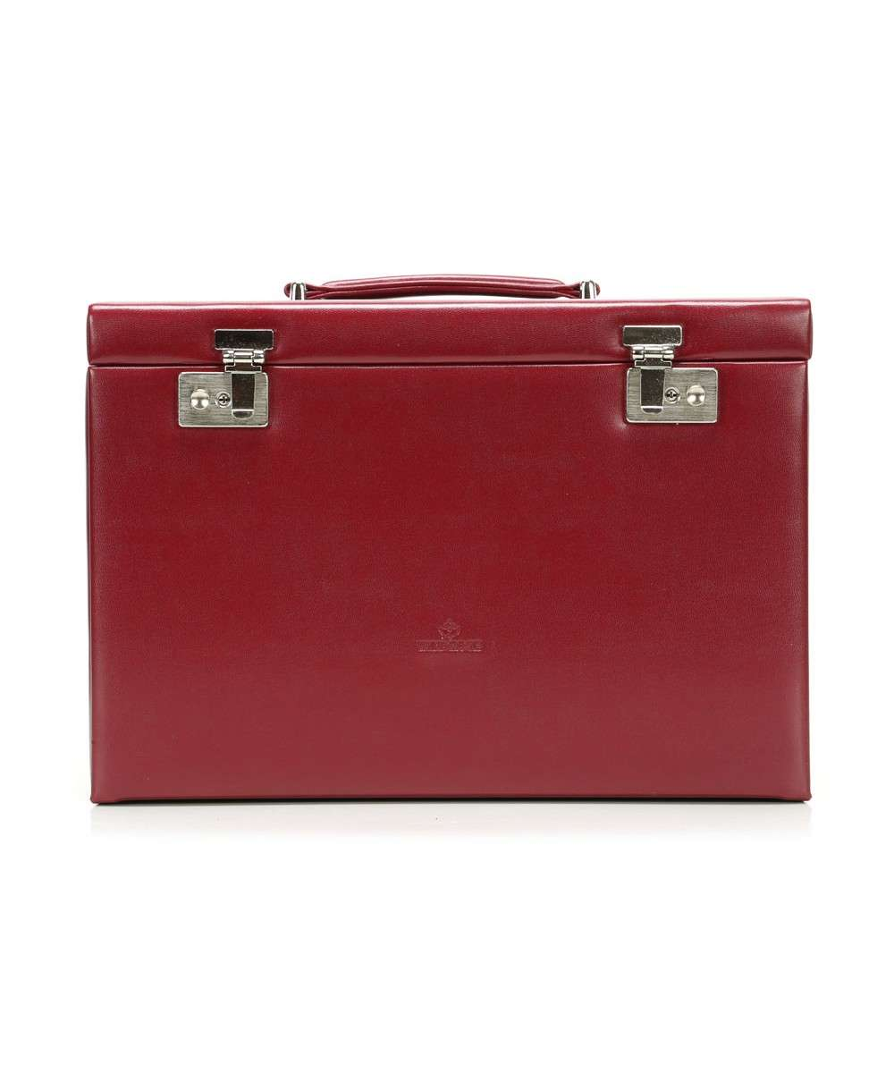 Windrose Merino Jewelry box red Preview
