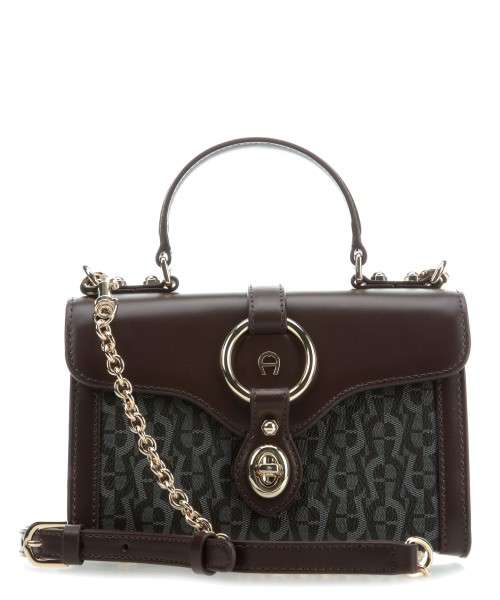 3dab99667 Aigner Fiorentina Shoulder bag cow leather, synthetic black/brown - 135348- 0014 | wardow.com