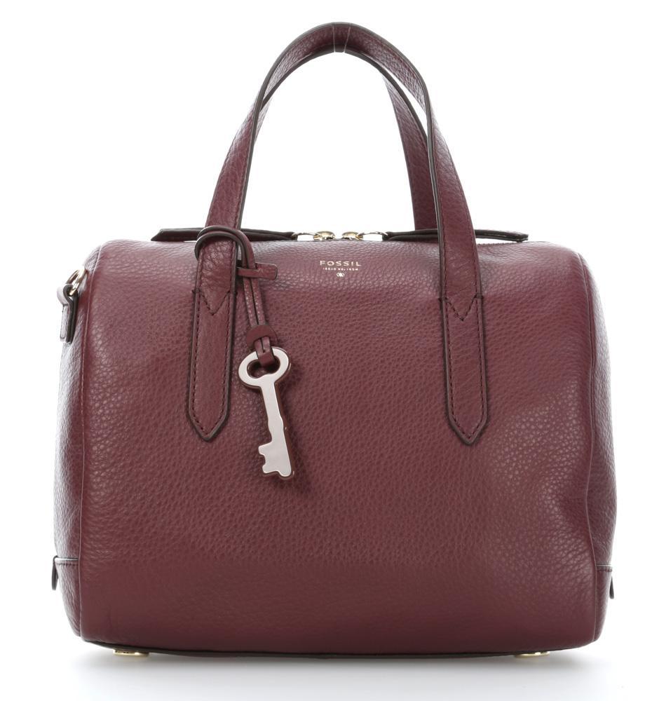 Fossil sydney handbag burgundy 26 cm zb5486601 - Wardow handtaschen ...