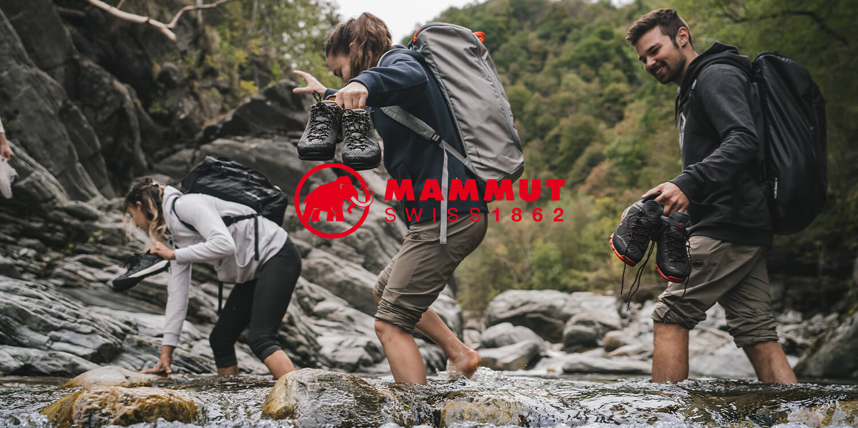 Mammut backpacks
