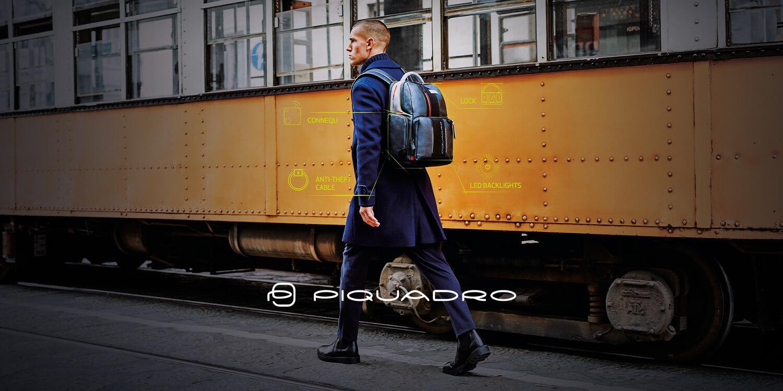 Piquadro business bags & backpacks