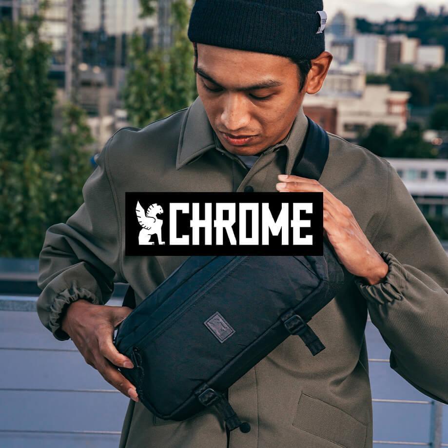 Chrome backpacks