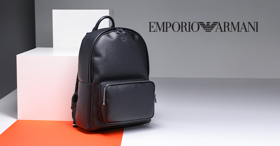 Emporio Armani bags and backpacks