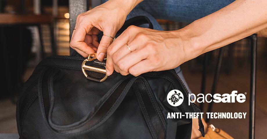 Pacsafe bags & backpacks